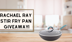 Rachael Ray Stir Fry Pan Giveaway