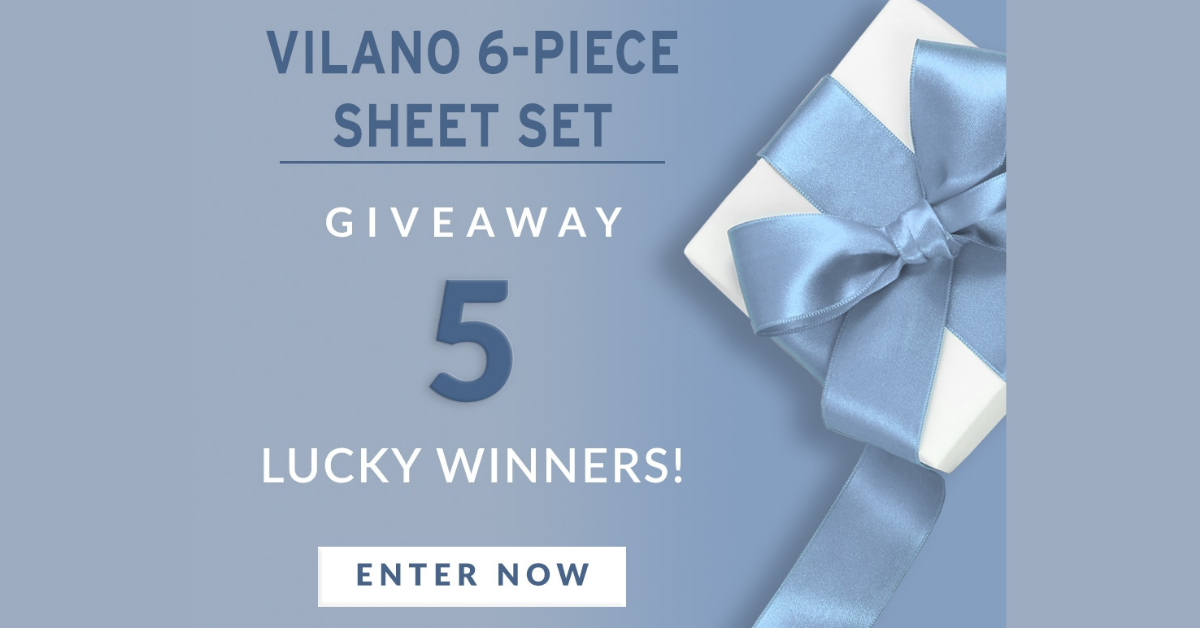 Southshore 6PC Vilano Sheet Set Giveaway