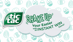 TIC TAC Shake Up Easter Instant Win Game