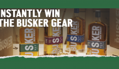 The Busker Irish Whiskey Discovery Sweepstakes And Instant Win Game