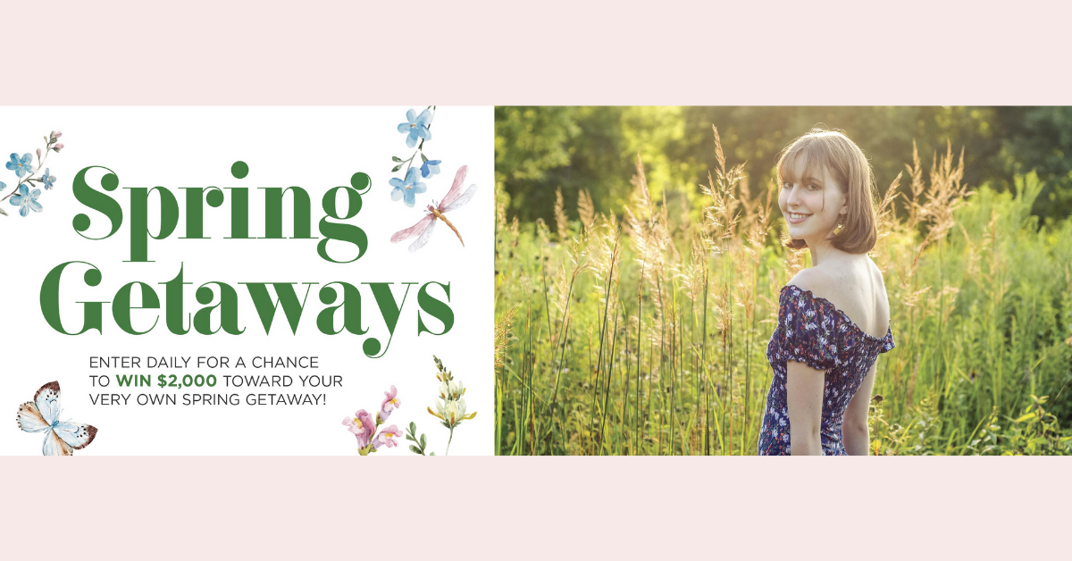 The Spring Getaways Sweepstakes