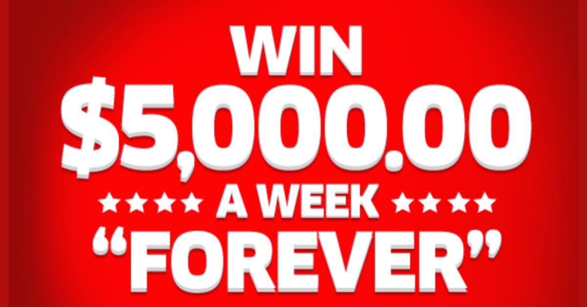 WIN $5K Every Week The Rest Of Your Life