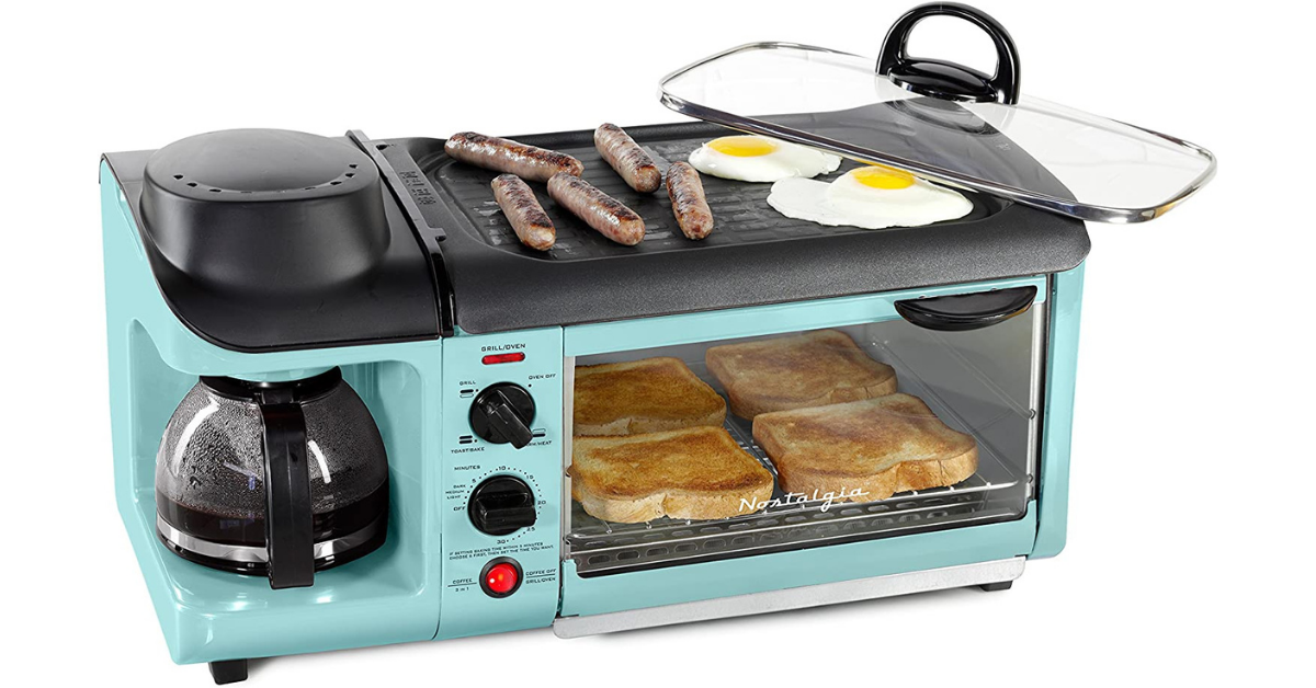 Win A Nostalgia 50s Style 3 In 1 Breakfast Station and $500 Visa Gift Card