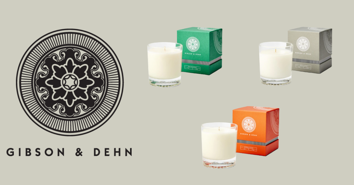 Win A Year Subscription Of Gibson and Dehn Candles