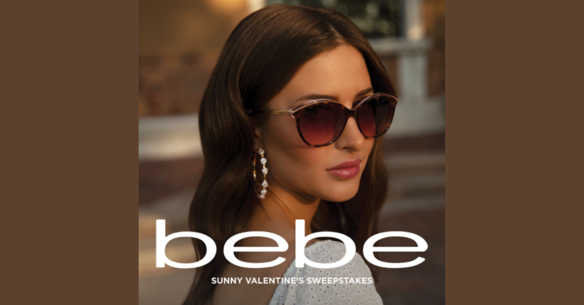 bebe Sunny Valentines Sweepstakes