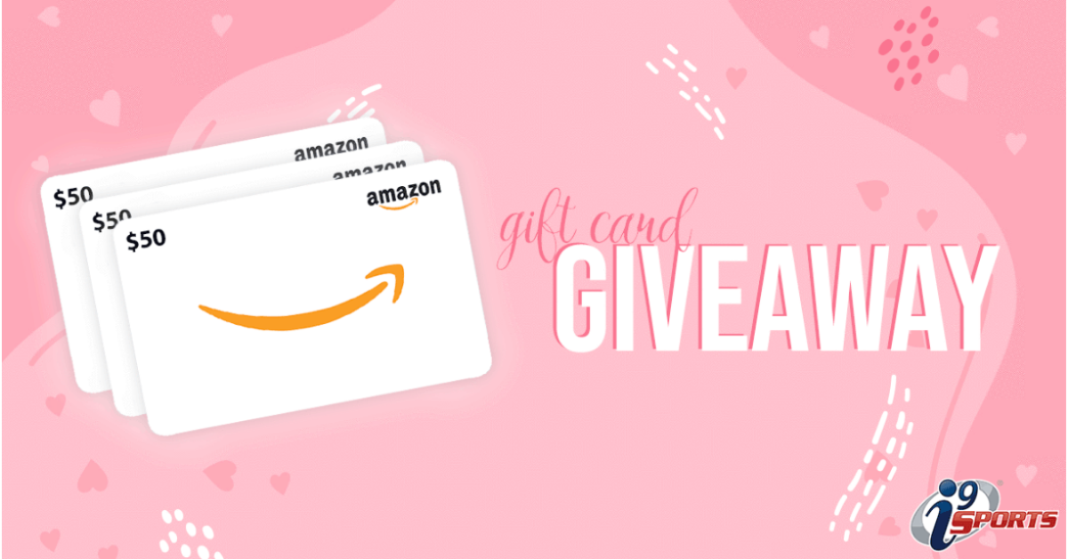 i9 Sports Amazon Gift Card Giveaway