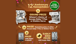 iDrink Coffee 12th Anniversary Sweepstakes