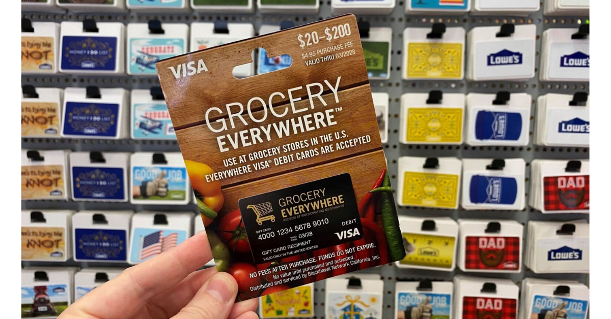 $250 Grocery Gift Card Giveaway