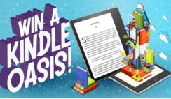Amazon Kindle Oasis Giveaway
