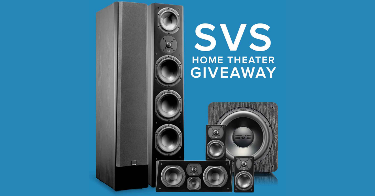 Audio Advice Home Theater System Giveaway