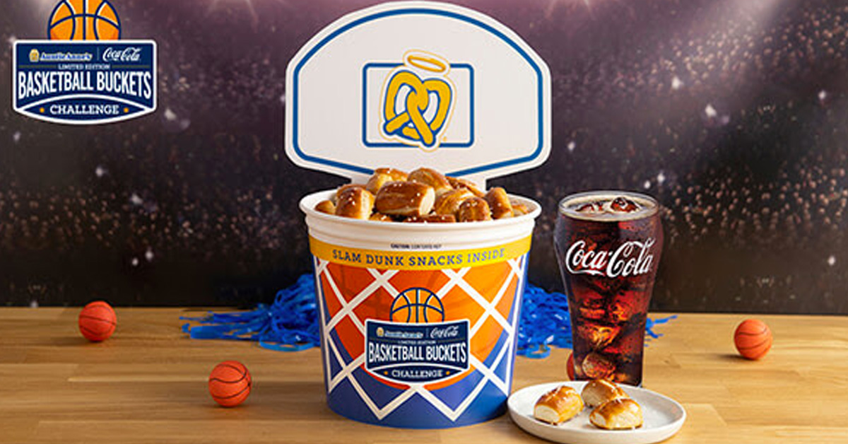 Auntie Annes Basketball Buckets Challenge Instant Win Game