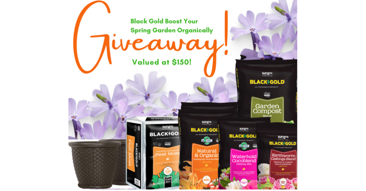 Black Gold Boost Your Spring Garden Giveaway