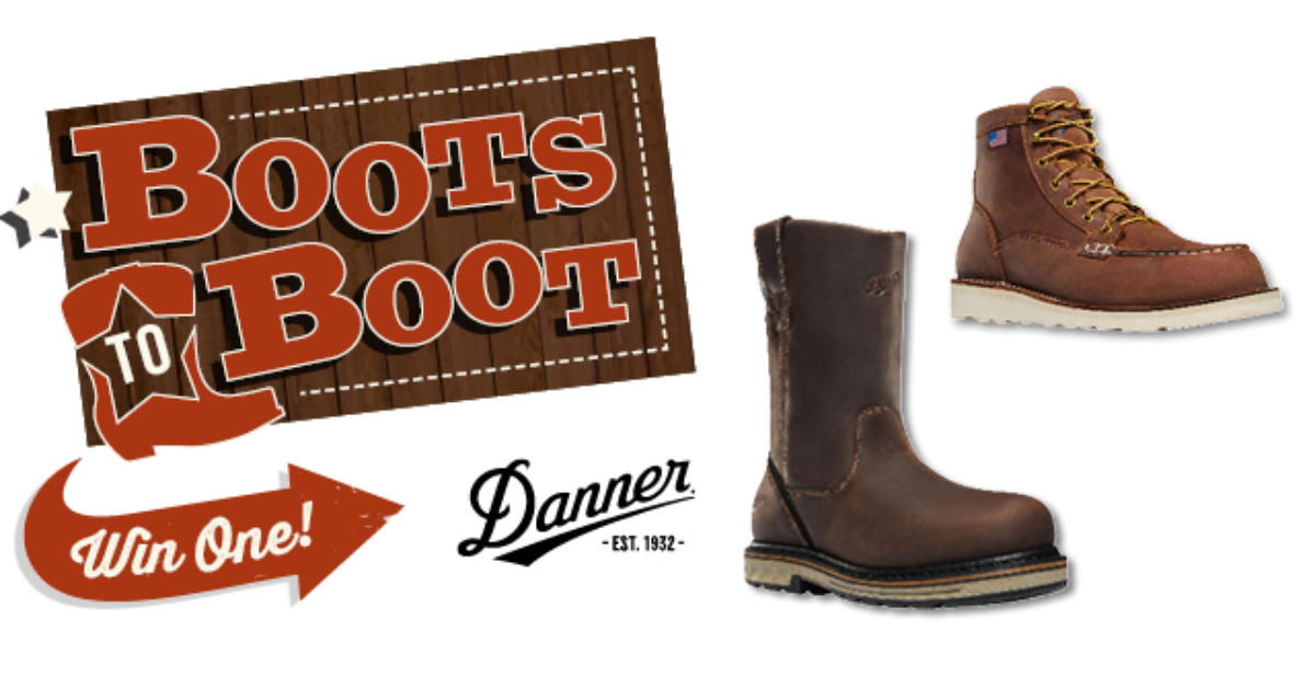 Danner Boots Giveaway