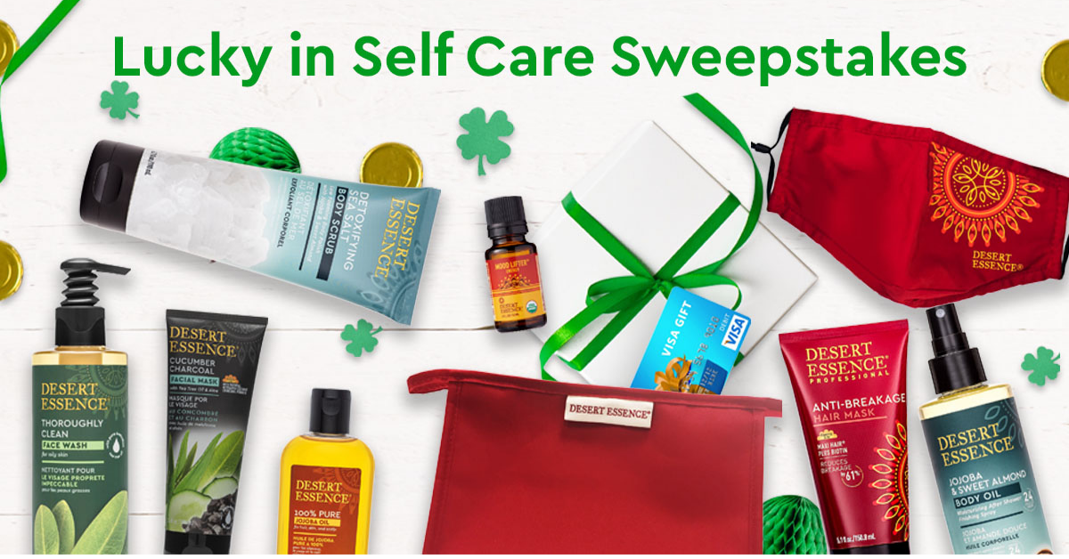 Desert Essence Lucky in Self Care Sweepstakes