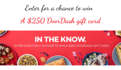 DoorDash Gift Card Giveaway