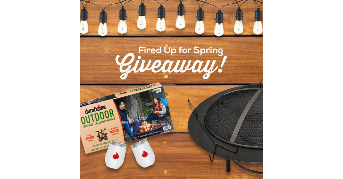 Duraflame Fired Up For Spring Giveaway