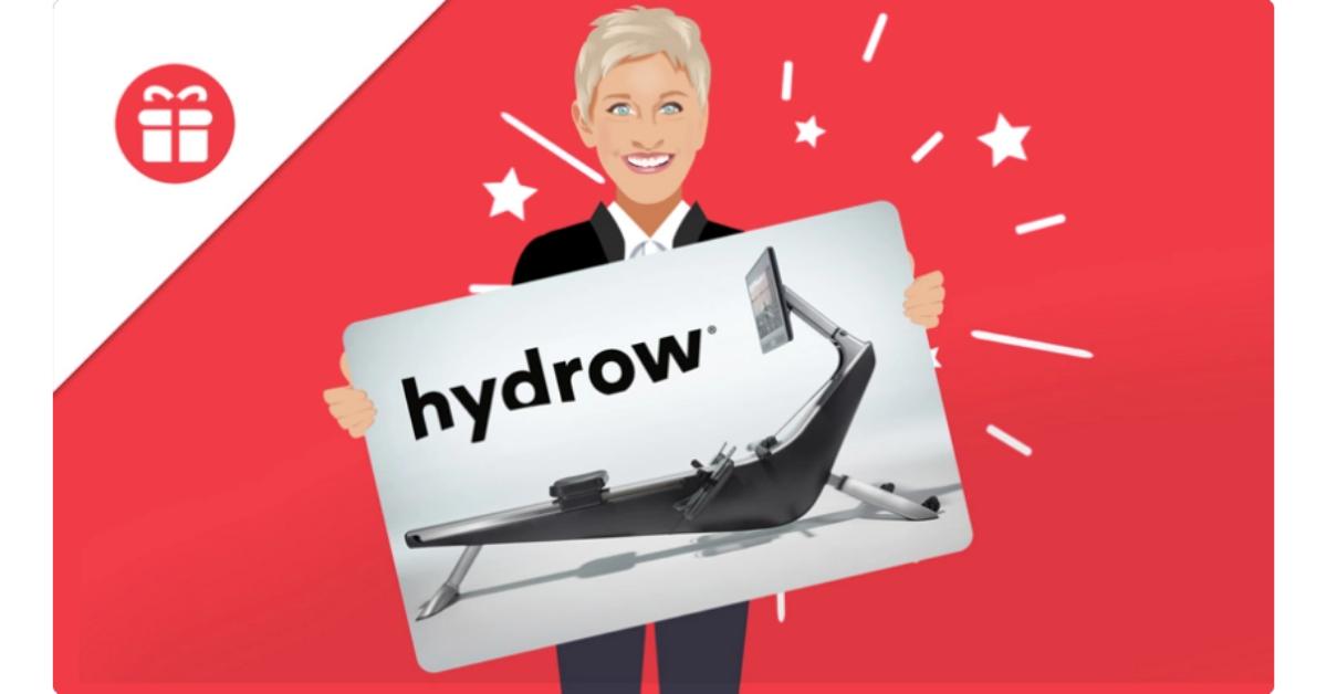 Ellens Hydrow Rower Giveaway