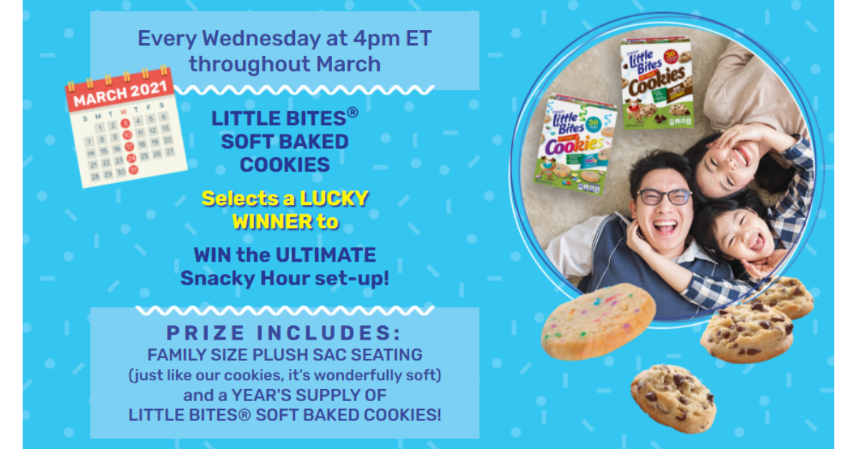 Entenmanns Little Bites Cookies Snacky Hour Sweepstakes