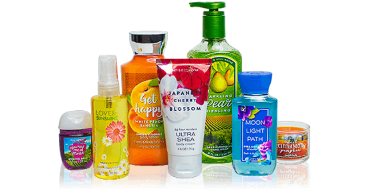 FREE Bath And Body Works Samples