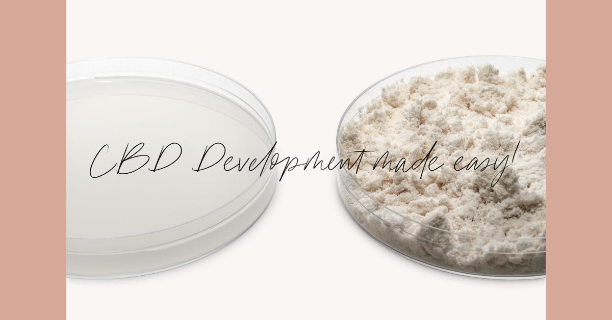 FREE Klersun Water Soluble CBD Development Kit