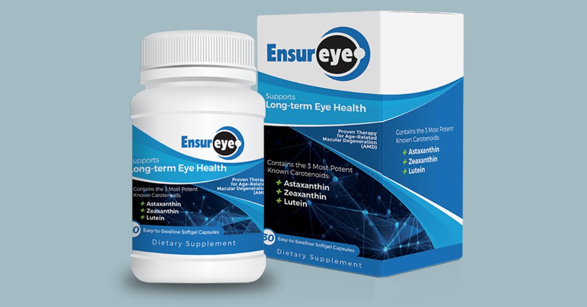 FREE Sample of EnsurEye Eye Health Supplement