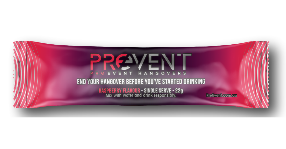 FREE Sample of PreEvent Hangover Formula Drink