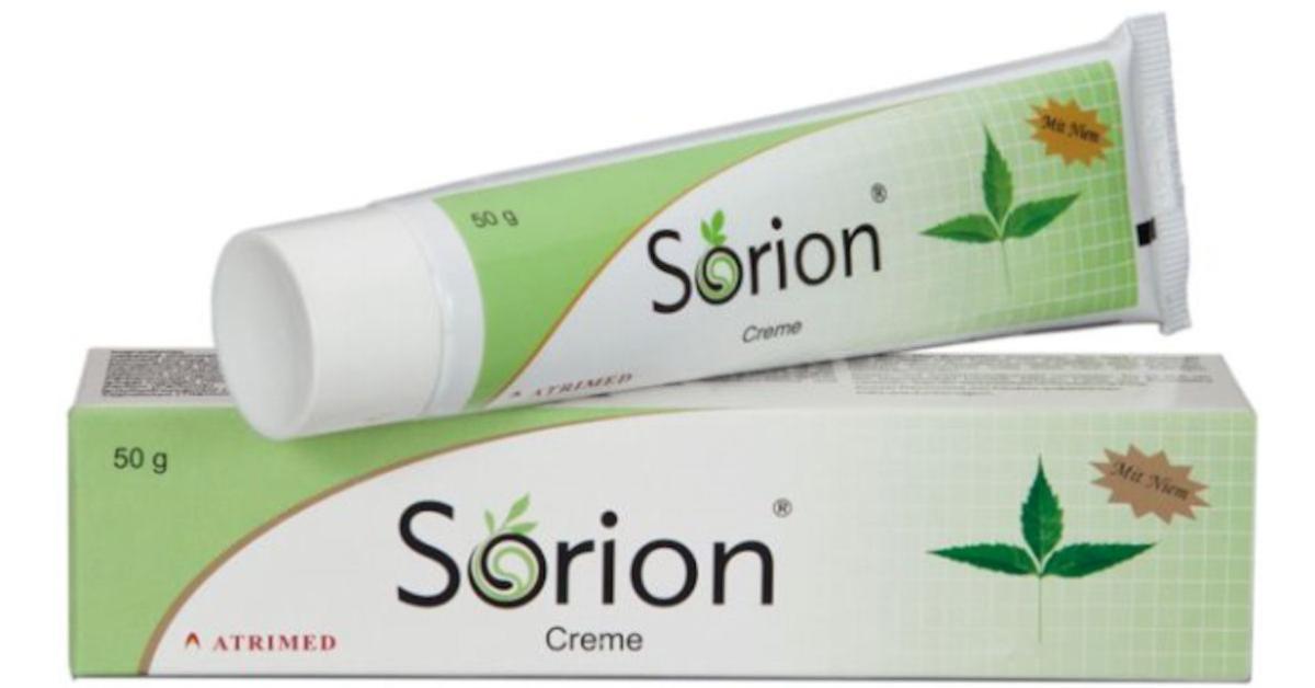 FREE Sample of Sorion Herbal Cream