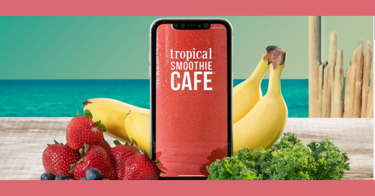 FREE Smoothie at Tropical Smoothie Cafe