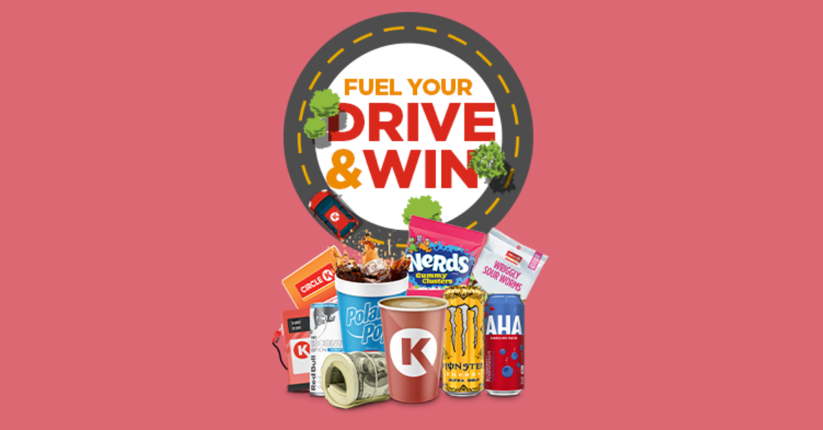 Circle K Fuel Your Drive and Win Sweepstakes and Instant Win Game