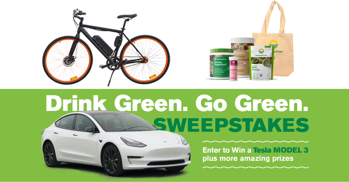 Drink Green Go Green 2021 Sweepstakes