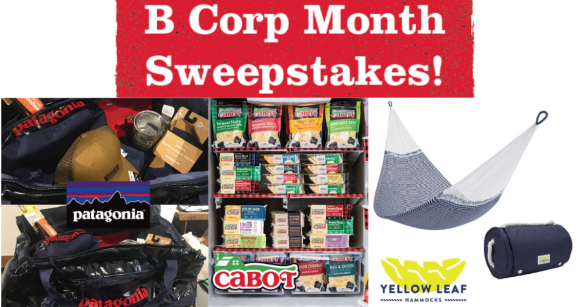 Cabot Creamery B Corp Month Sweepstakes