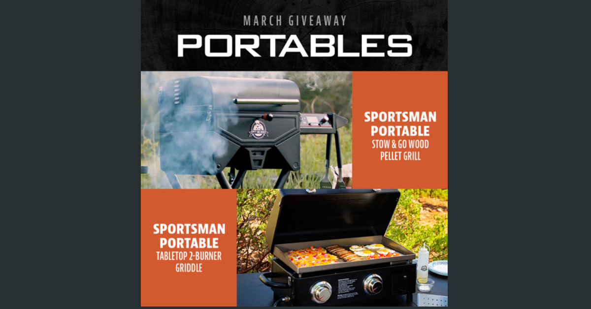 Pit Boss Portables Giveaway