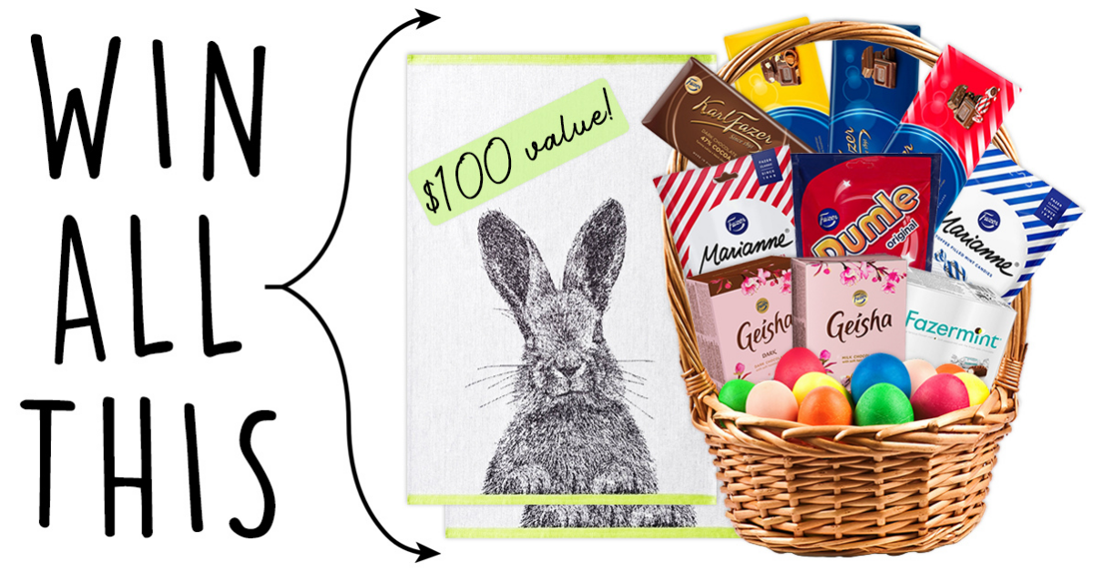 Finnish Easter Sweetstakes Giveaway