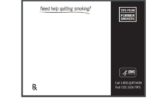 Free 1-800-QUIT-NOW Notepads