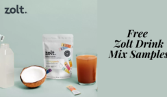 Free Zolt Drink Mix Samples