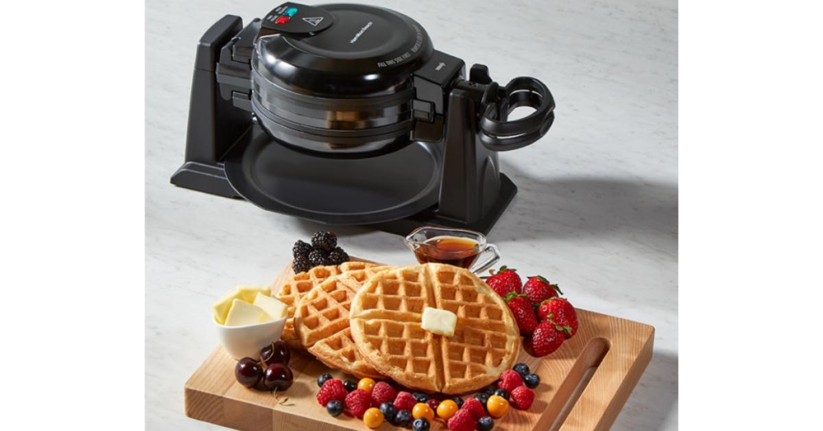 Hamilton Beach Double Round Belgian Waffle Maker Giveaway