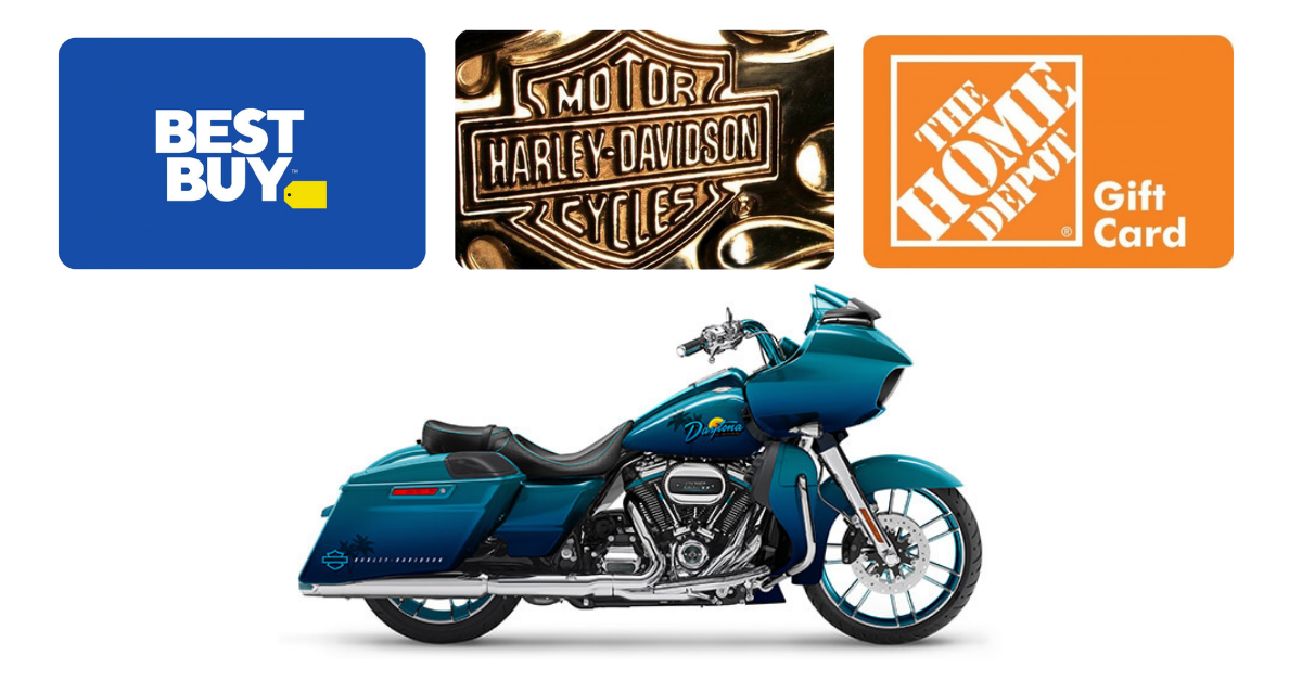 Harley Davidson Get Out And Ride Instant Win and Sweepstakes