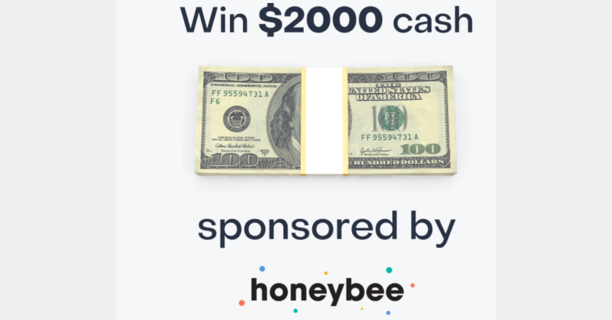 Honeybee Health $2K Cash Giveaway