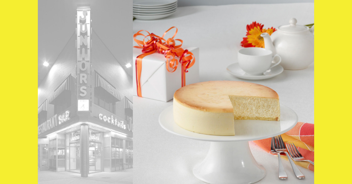 Juniors Holiday Cheesecake Giveaway