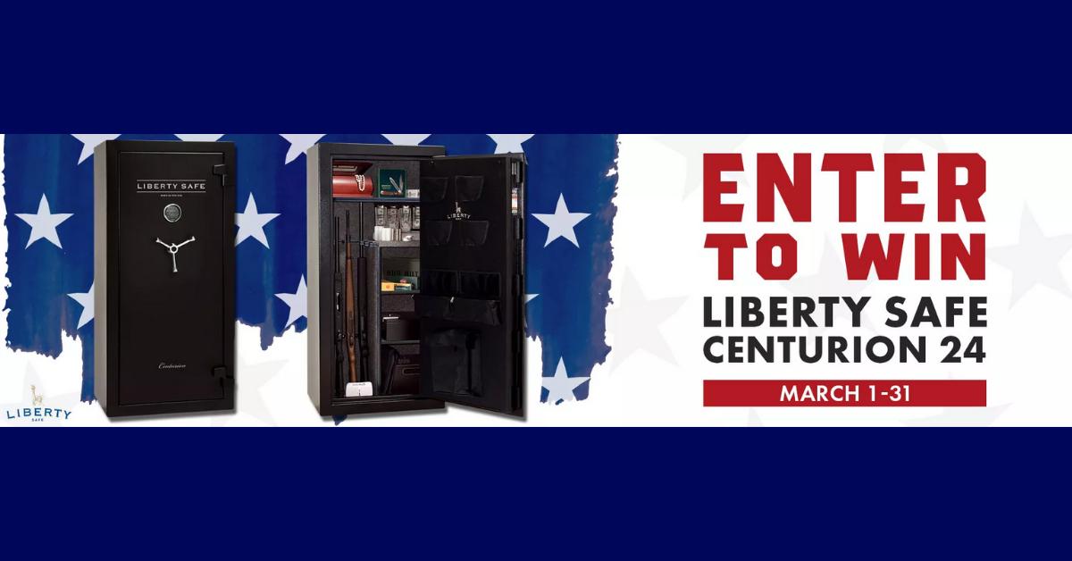 Liberty Safe Centurion 24 Giveaway