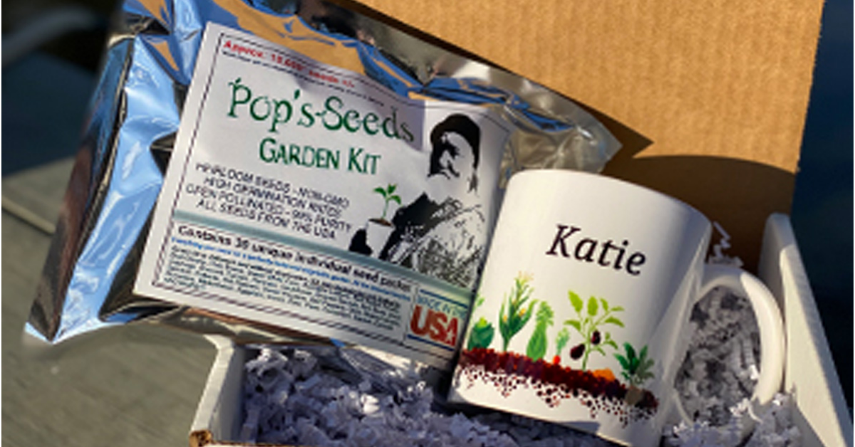 Mother Earth News Pops Seeds Giveaway