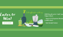 National Celery Month Stalk the Fridge Sweepstakes