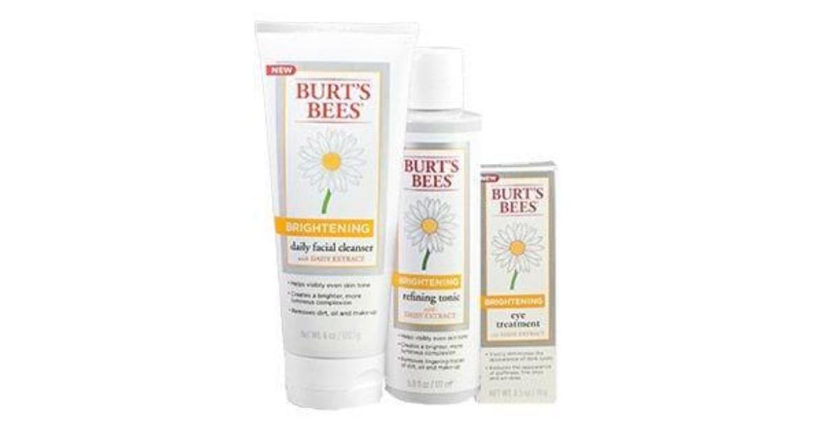 New FREE Burts Bees Samples
