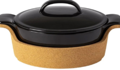 Oval Covered Casserole with Cork Tray Giveaway