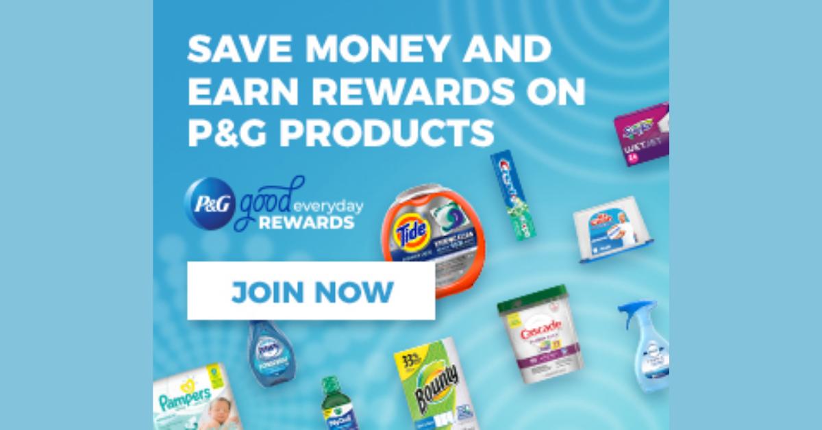 P&G Good Everyday Rewards