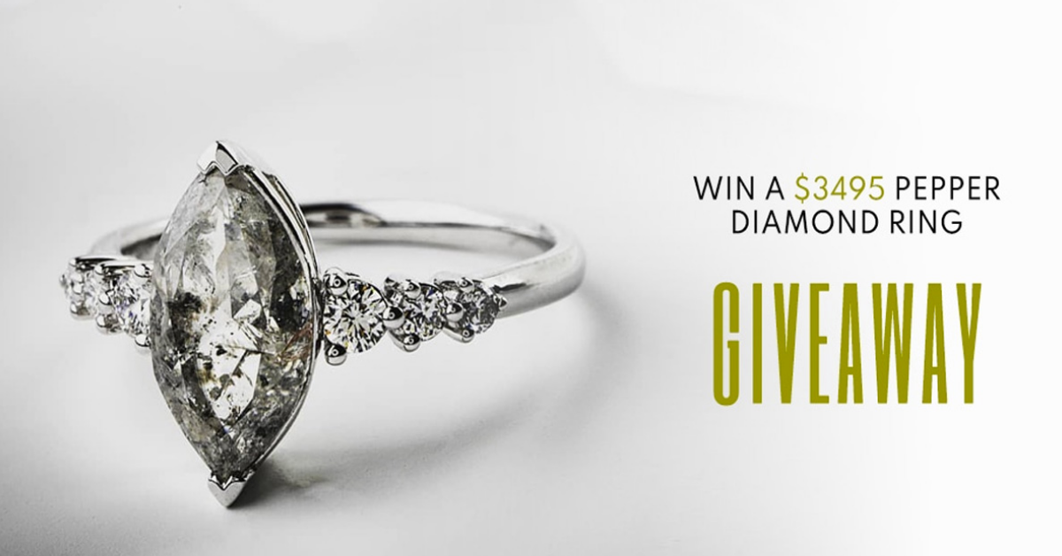 Pepper Diamond Ring Giveaway