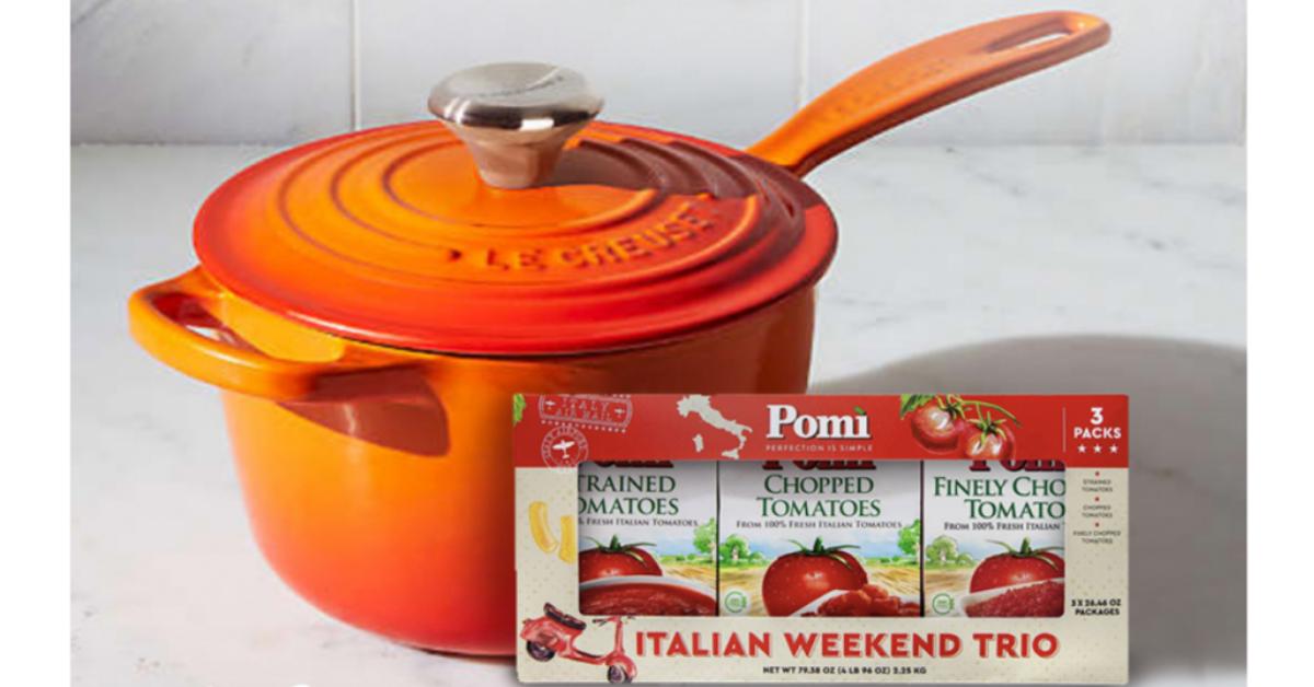 Pomi Le Creuset Italian Weekend Giveaway