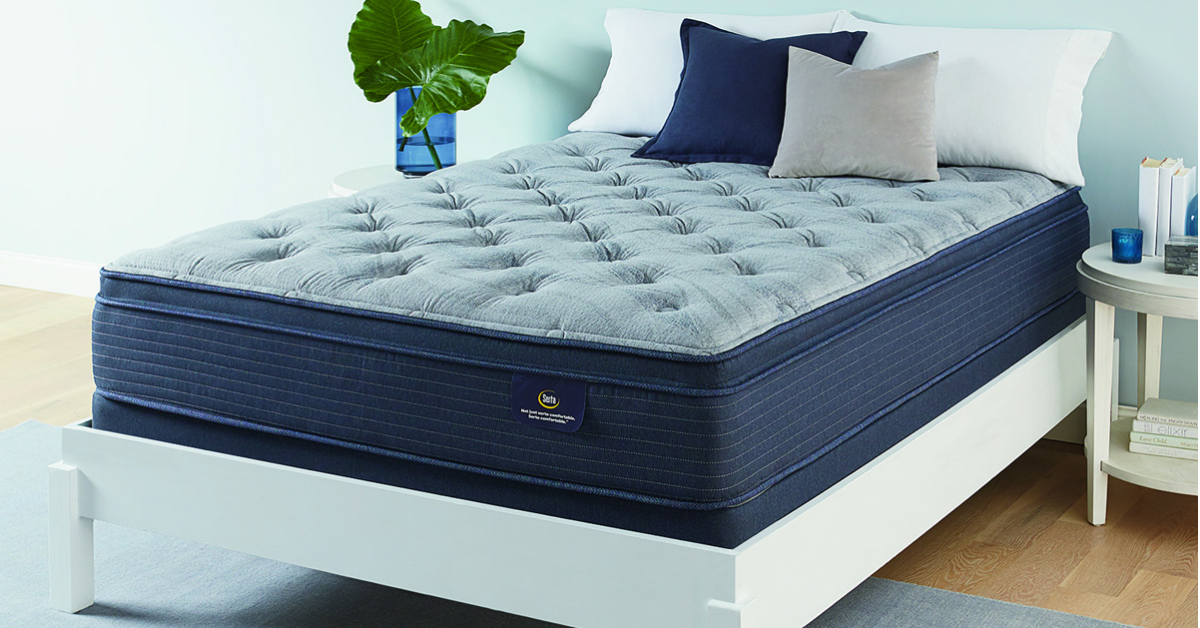 Queen Serta Mattress with Foundation Giveaway