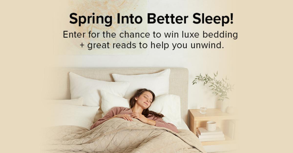 Spring Into Better Sleep Sweepstakes