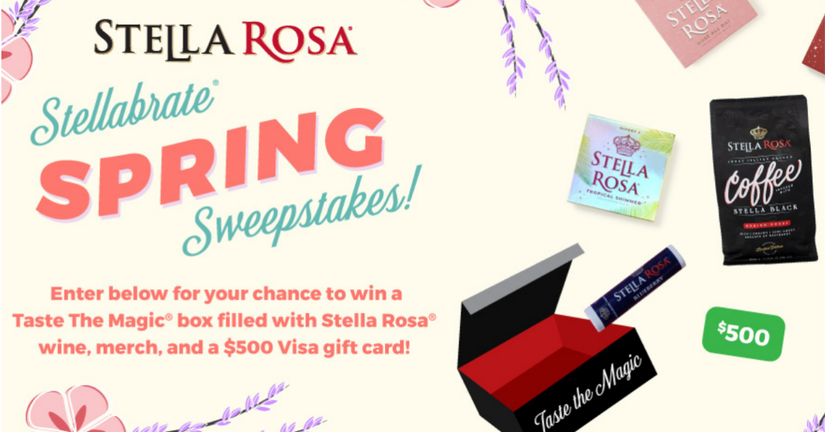 Stellabrate Spring Sweepstakes